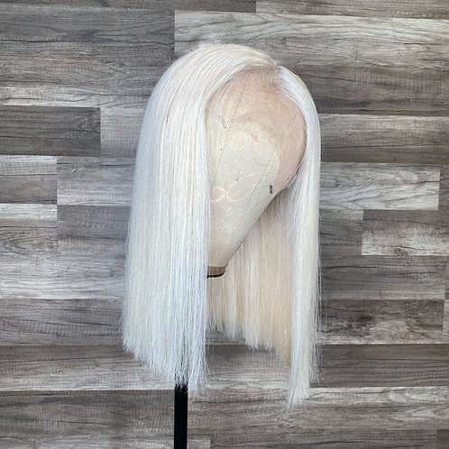 Pale Blonde Bob 13x6 HD Lace Wig