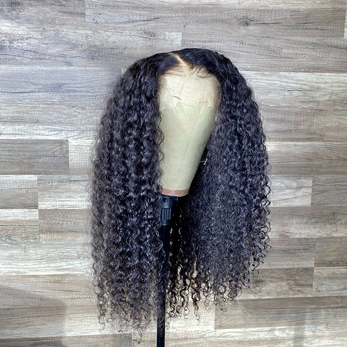 Indian Curly 13x6 HD Lace Wig