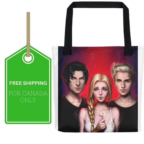 Dark Dreams  All-Over Tote 15x15 CANADA SHIPPING