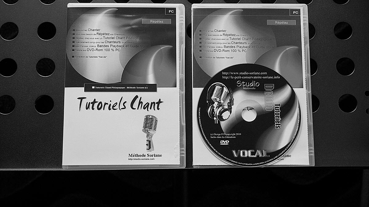 Tutoriels Chant sur DVD