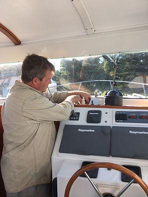 Tom Olsen of Olsen Marine, Inc.