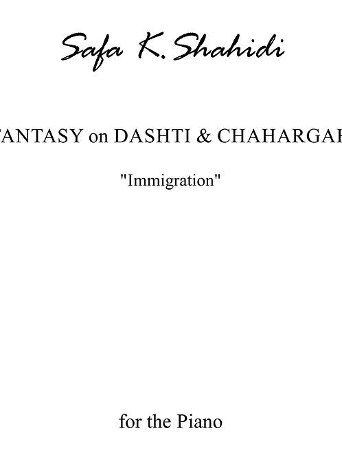 Fantasy on Dashti & Chahargah