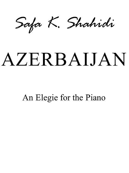 Elegie for the Piano, AZERBAIJAN