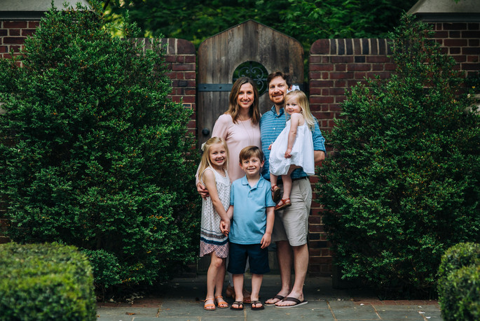 The Hill Family | University of Richmond Family Session