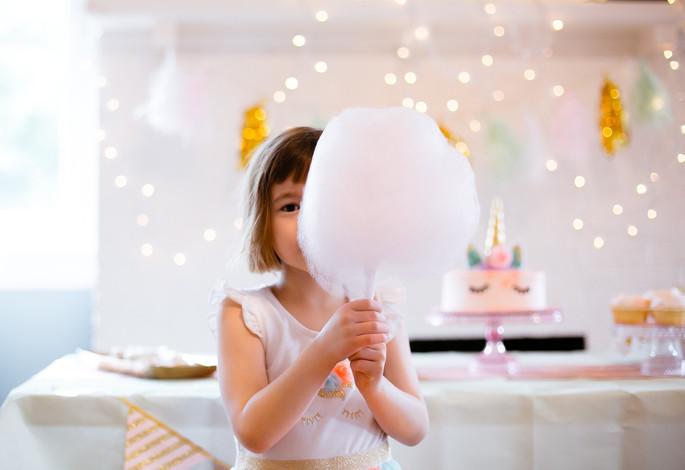 Olive's Unicorn Birthday Party