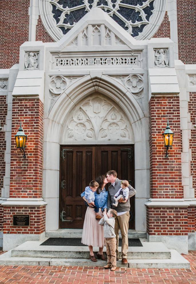 The Willis Crew | University of Richmond Family Session