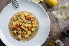 Homemade Gnocchi w Porcini Mushrooms & T