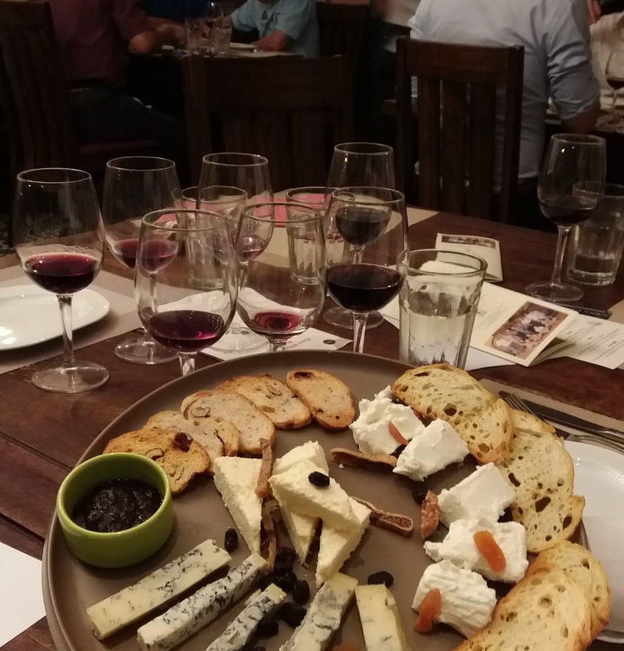 Cheese Platter with a selection of Piemontese cheeses