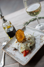 Stracciatella Eggplant Caponata (Event m