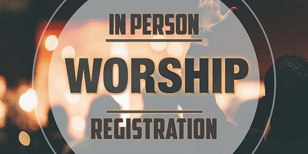 Last Names L to Z Registration for April 18 Worship Gathering 5 spots left