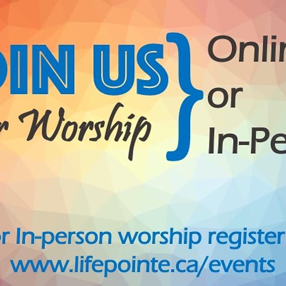 Registration for Worship Gathering: October 3, 2021 @ 10:30am