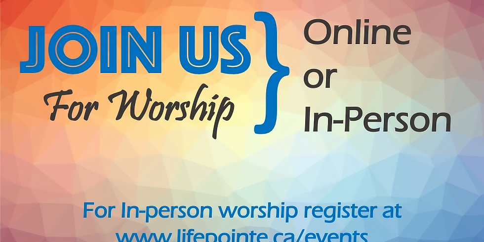 Last Names A - K Registration For In-Person Worship Gathering: June 13, 2021 @ 10:30am