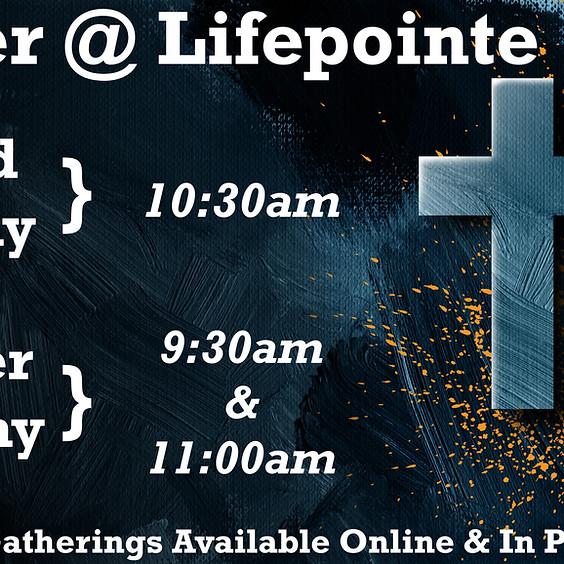 15 Spots Remaining for 11:00am Registration for Easter Sunday Worship Gathering:  April 4
