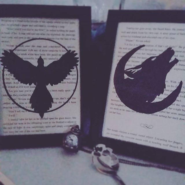 The Hunted symbols. Reaper and Hunter.__