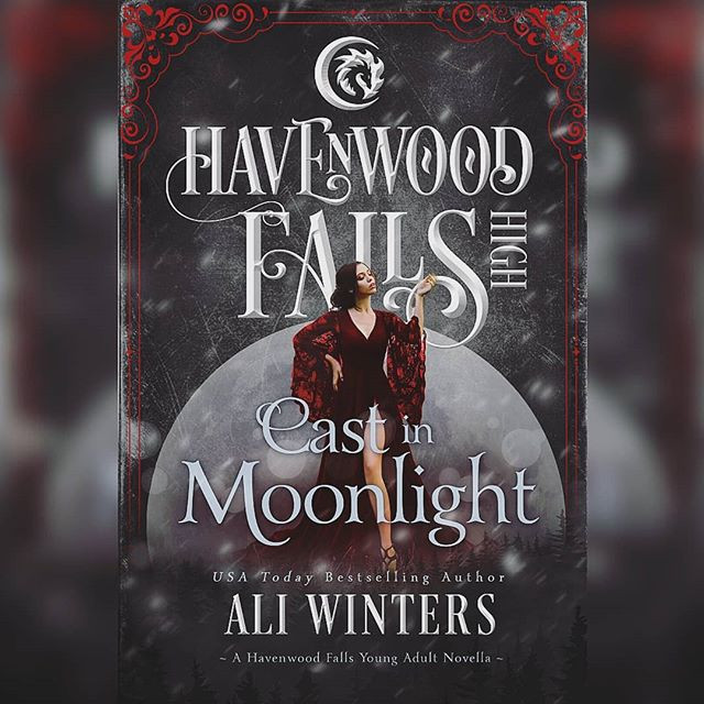 It is cover reveal day for Cast In Moonl