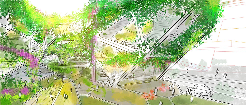 #green #infrastructure #smart #urbandesign #Landscape