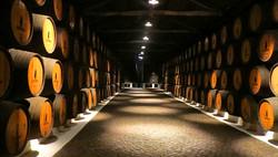 Porto wine cellar