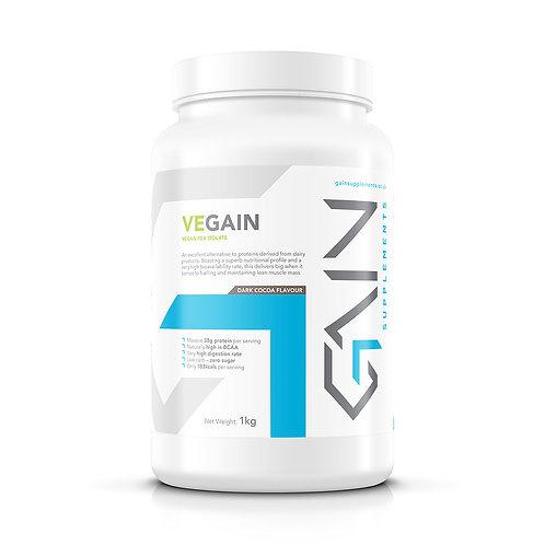 Vegain Pea Protein Isolate   Dark Cocoa