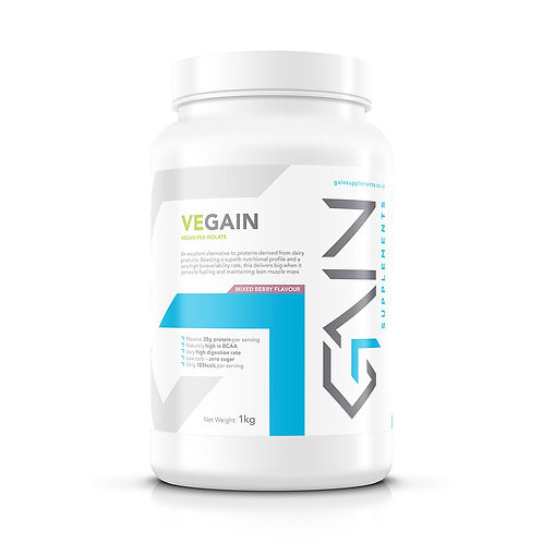 Vegain Pea Protein Isolate   Mixed Berry