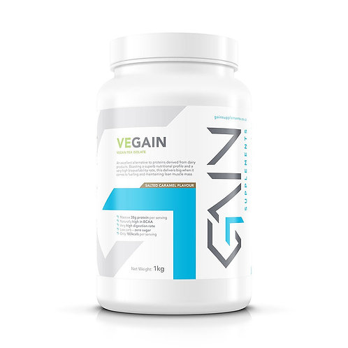 Vegain Pea Protein Isolate | Salted Caramel