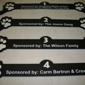 Sponsor a Kennel and Add Your Name!