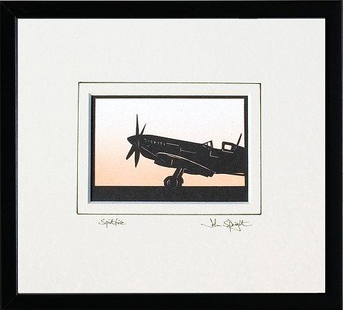 Spitfire - Front in Black Frame