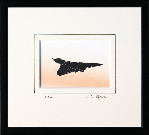 Vulcan - Flying in Black Frame