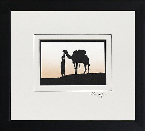 Camel in Black Frame