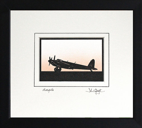 Mosquito in Black Frame