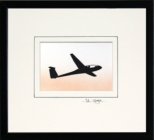 Glider - Design No.2 in Black Frame