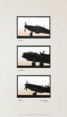 Hurricane, Lancaster & Spitfire Triple