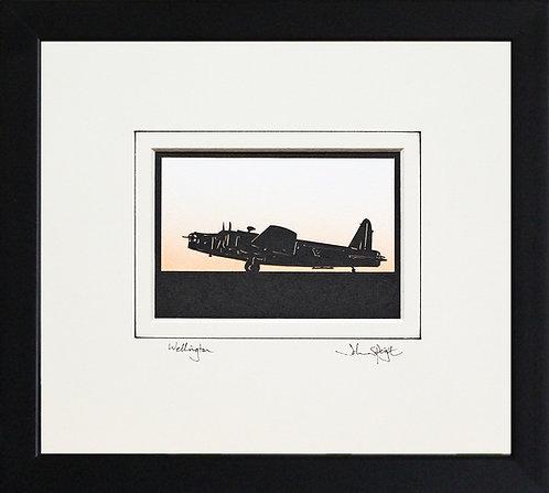Wellington - Full Plane in Black Frame