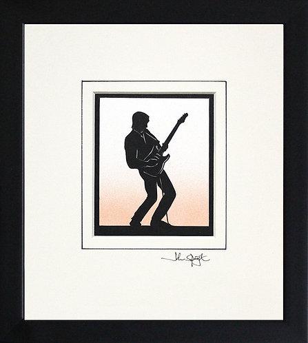 Guitar - Electric in Black Frame