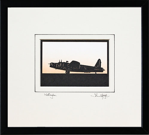 Wellington - Full Plane in Black Frame