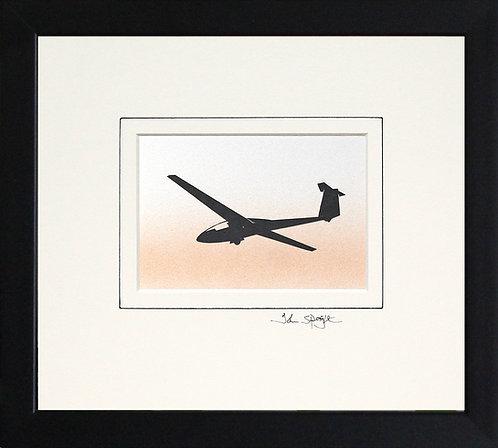 Glider - Design No. 3 in Black Frame