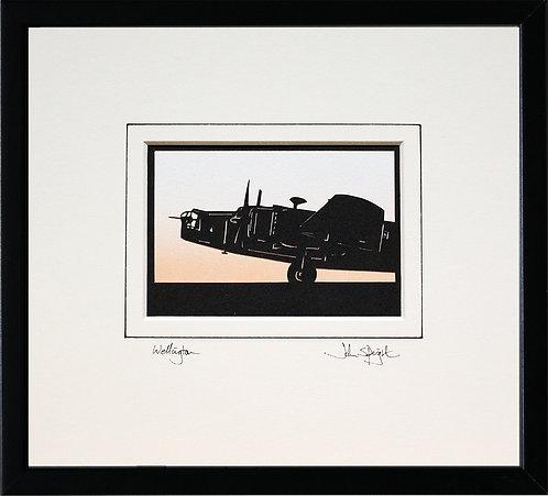 Wellington - Front in Black Frame