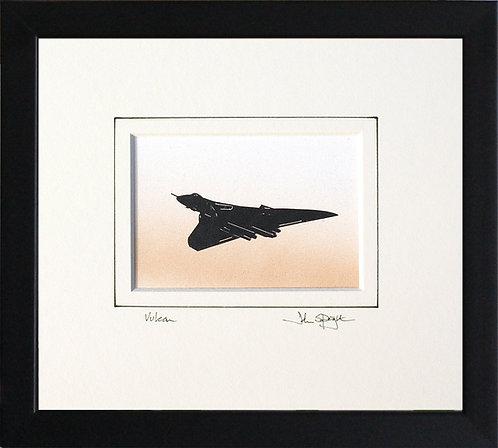Vulcan - Flying in Black Frame