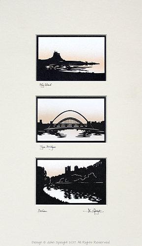 Holy Island, Tyne Bridges & Durham Triple