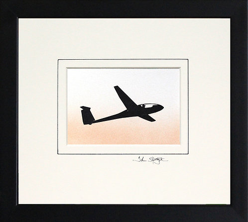 Glider - Design No.2 in Black Frame