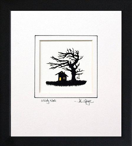 Windy Nook in Black Frame