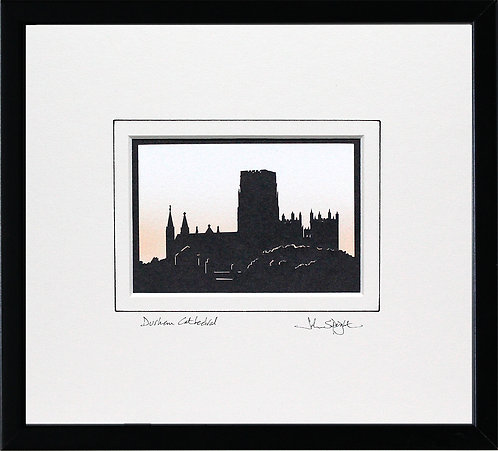 Durham Cathedral in Black Frame