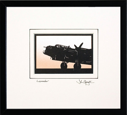 Lancaster - Front in Black Frame