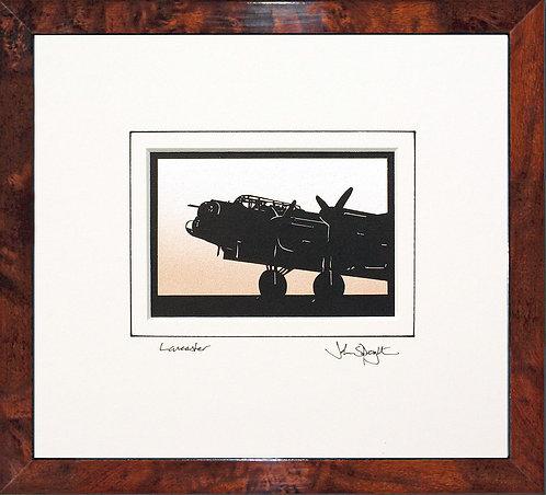 Lancaster - Front in Walnut Veneer Frame