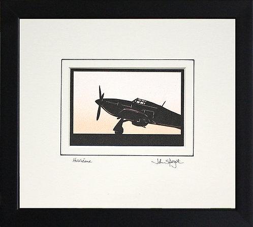 Hurricane - Front in Black Frame