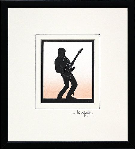 Guitar - Electric in Black Frame