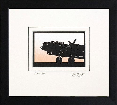 Lancaster - Front in Black Frame