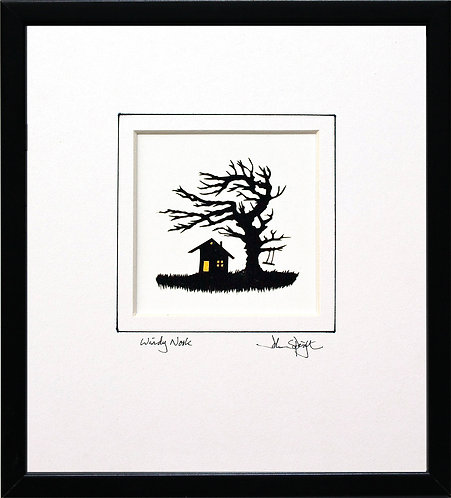 Windy Nook in Black Frame