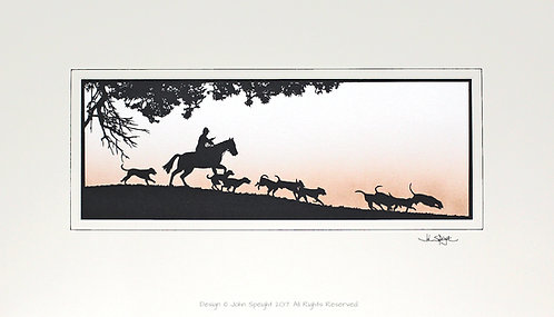 Horse and Hounds - Large