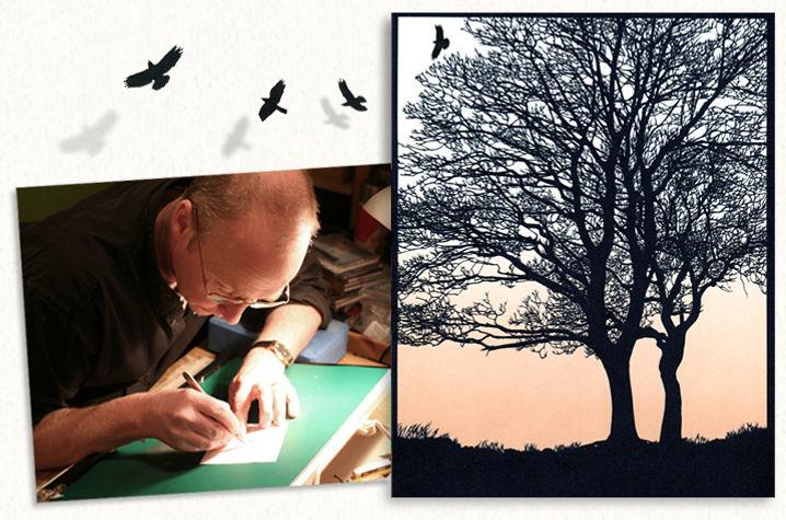 John Speight Papercut Artist