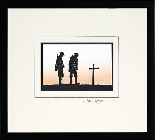 Remembrance in Black Frame